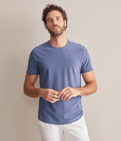 Slub Cotton T-Shirt Twist
