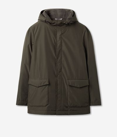 Waterproof Parka in Ultra-soft Cashmere