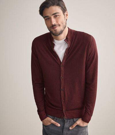 Cardigan  cashmere ultralight bottoni
