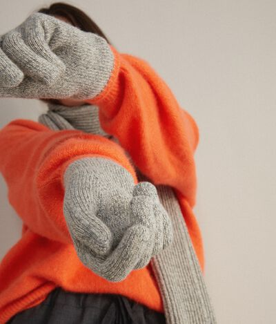 Mouliné Cashmere Gloves