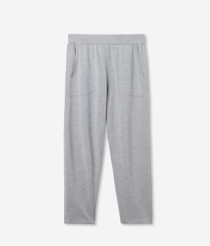 Soft Silk and Cotton Baggy Trousers