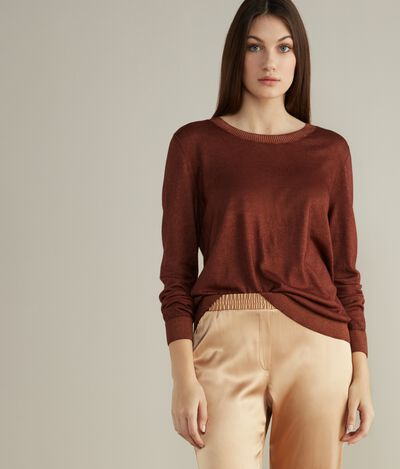 Ultralight Cashmere Round-Neck Jumper