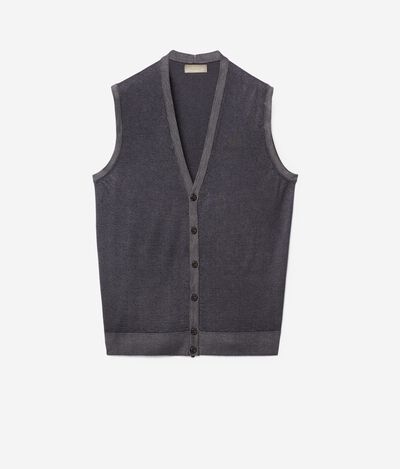Gilet cashmere ultralight bottoni