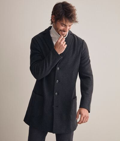 Cappotto Jersey Cashmere