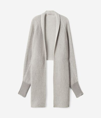 Ultrasoft Cashmere Stole with Sleeves