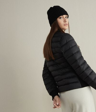 Long-sleeved Quilted Jacket