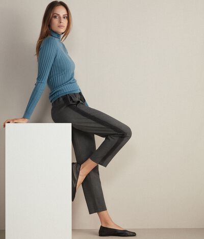 Trousers WOOL INSERT TOP
