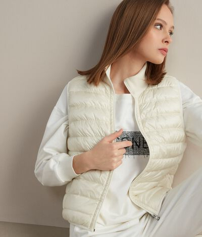 Reversible Cashmere Down Vest