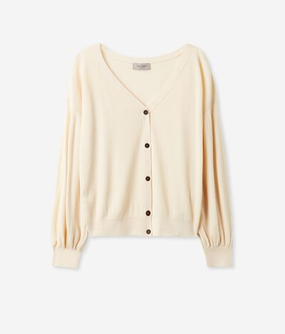 Silk and Cotton Cardigan