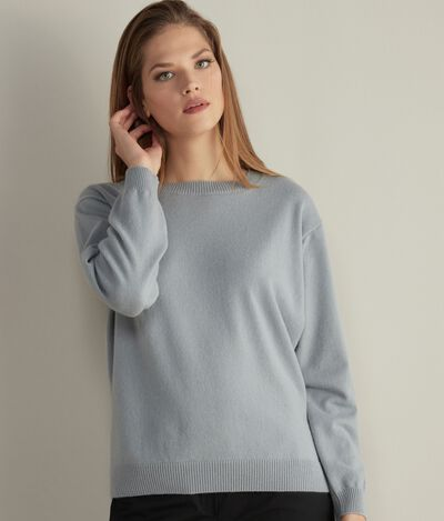 Boat Neck Ultrasoft Cashmere Jumper