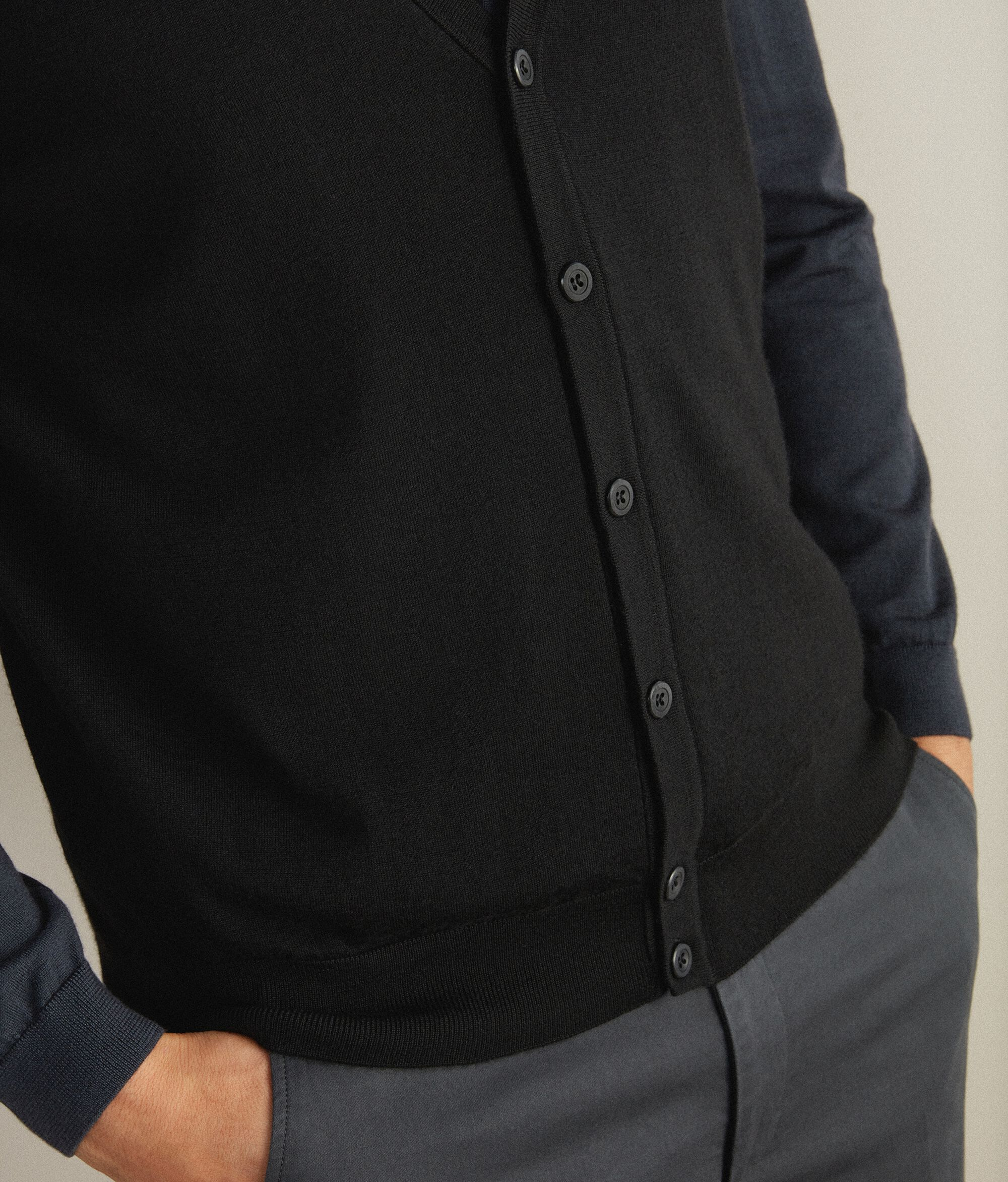 Gilet in Cashmere Ultralight