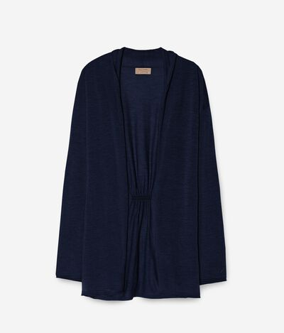 Long-Cardigan Aus Cashmere Ultralight