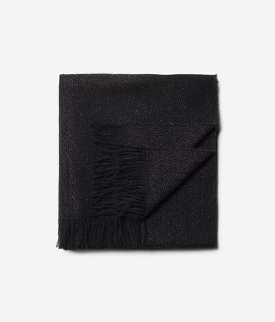 Scarf in Wool and Lamé Thread