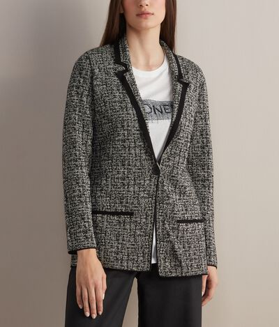 Long Cotton and Linen Jacket