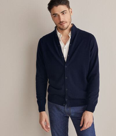 Ultrasoft cashmere buttoned cardigan
