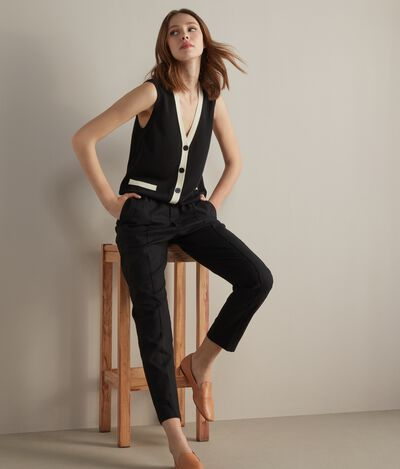 Silk and Cotton Vest