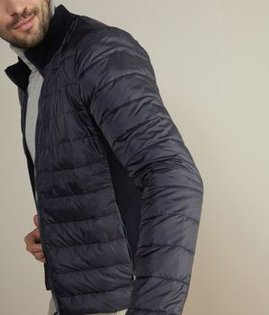 Long-Sleeved Down Jacket