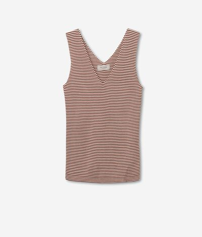 Silk and Cotton Tank Top