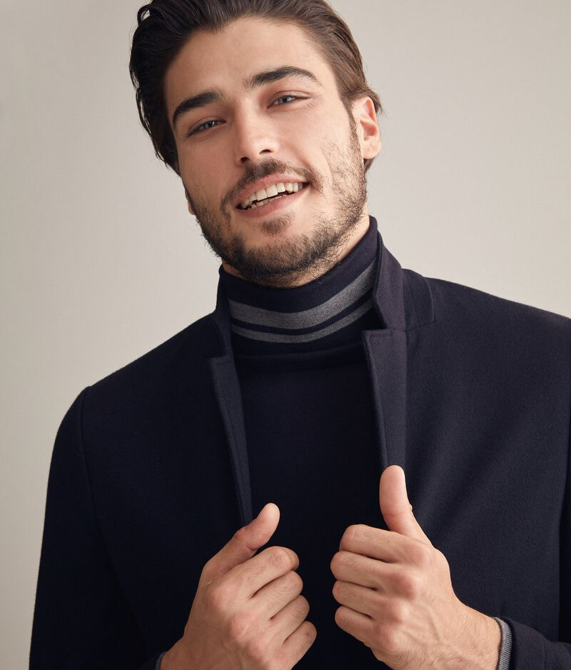 Giacca jersey cashmere