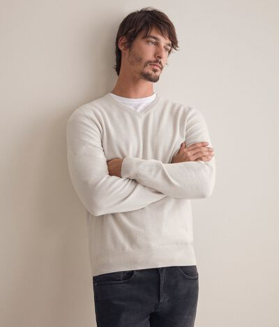 Ultrasoft Cashmere V-Neck Jumper