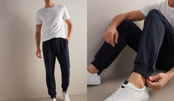 Cotton and Silk Pants