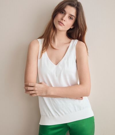 Silk and Cotton Top