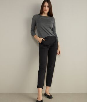 Cotton Slim-fit Pants
