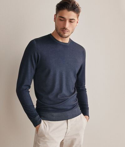 Girocollo cashmere ultralight