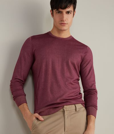 Camisola com decote redondo ultralight