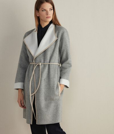 Cappotto in Cashmere Reversibile