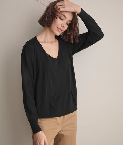 Ultralight Cashmere Cropped Cardigan