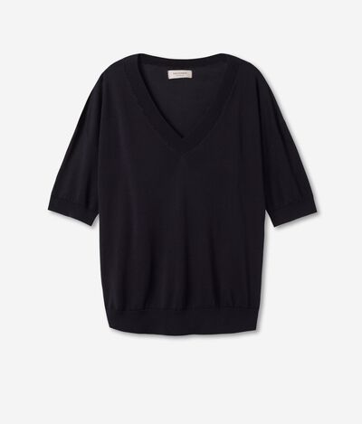 Soft Silk and Cotton T-shirt